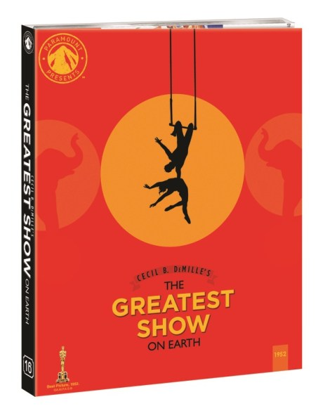 The Greatest Show On Earth; Arrives On Blu-ray For The First Time March 30, 2021 As Part Of The Paramount Presents Line From Paramount 2