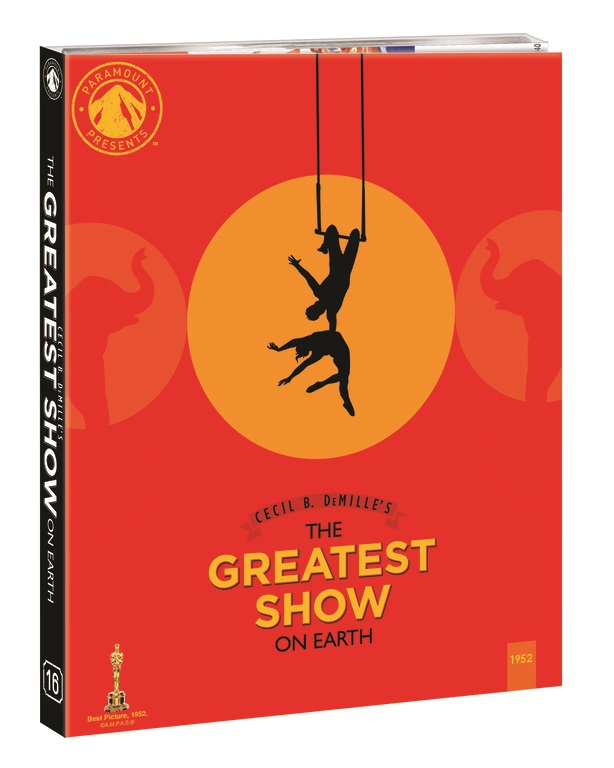 The Greatest Show On Earth; Arrives On Blu-ray For The First Time March 30, 2021 As Part Of The Paramount Presents Line From Paramount 5