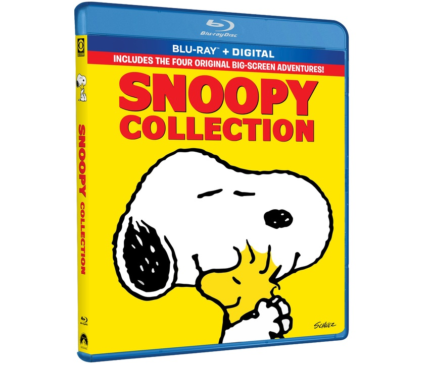 snoopy 4 movie collection