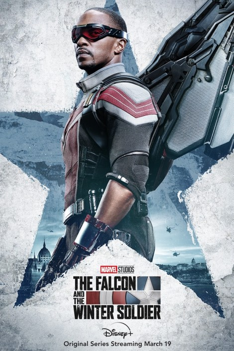 'The Falcon And The Winter Soldier'; 4 Character Posters Revealed For Marvel's Disney Plus Series 1