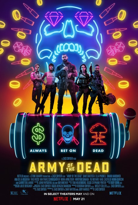 'Army Of The Dead'; The Full Trailer For Zack Snyder's New Netflix Zombie Movie Is Here! 2