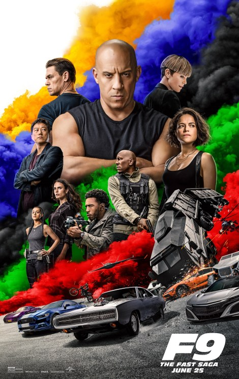 'F9'; The Explosive New Trailer & Poster For 'Fast & Furious 9' Are Here! 1