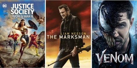 DEG Watched At Home Top 20 List For 05/20/21: Justice Society: World War II, The Marksman 5