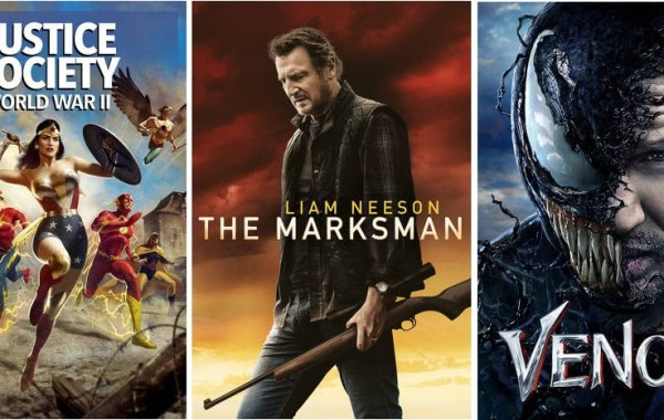DEG Watched At Home Top 20 List For 05/20/21: Justice Society: World War II, The Marksman 28