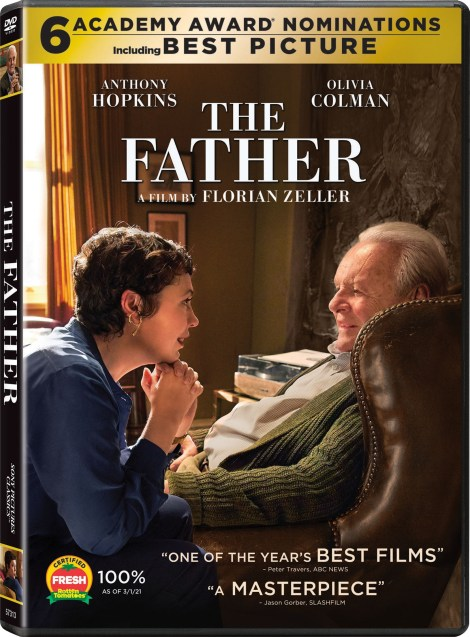 'The Father'; The Academy Award Winning Film Is Now Available On Digital & Arrives On Blu-ray & DVD May 18, 2021 From Sony 3