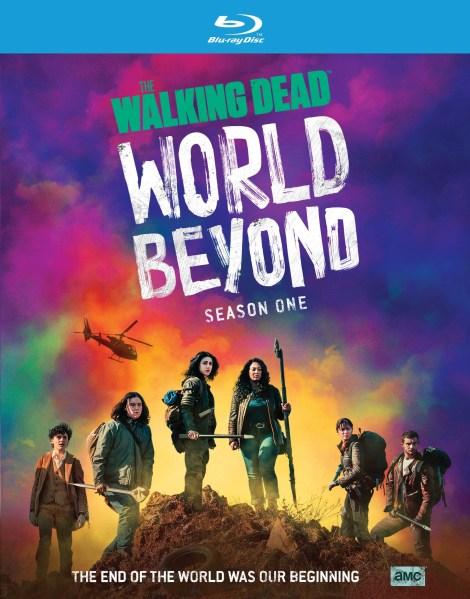 the walking dead world beyond season 1 blu ray
