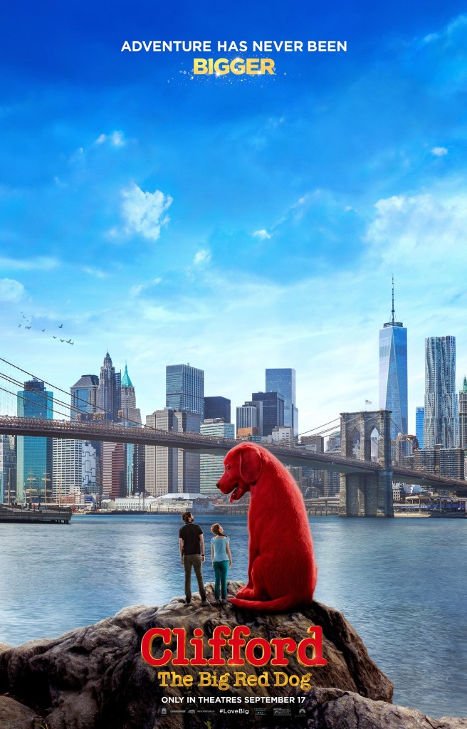 'Clifford The Big Red Dog'; It's Giant Sized Fun & Chaos In The Debut Trailer & Poster For The Family Comedy 4