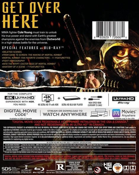 'Mortal Kombat'; The New Film Arrives On Digital June 11 & On 4K Ultra HD, Blu-ray & DVD July 13, 2021 From Warner Bros 6