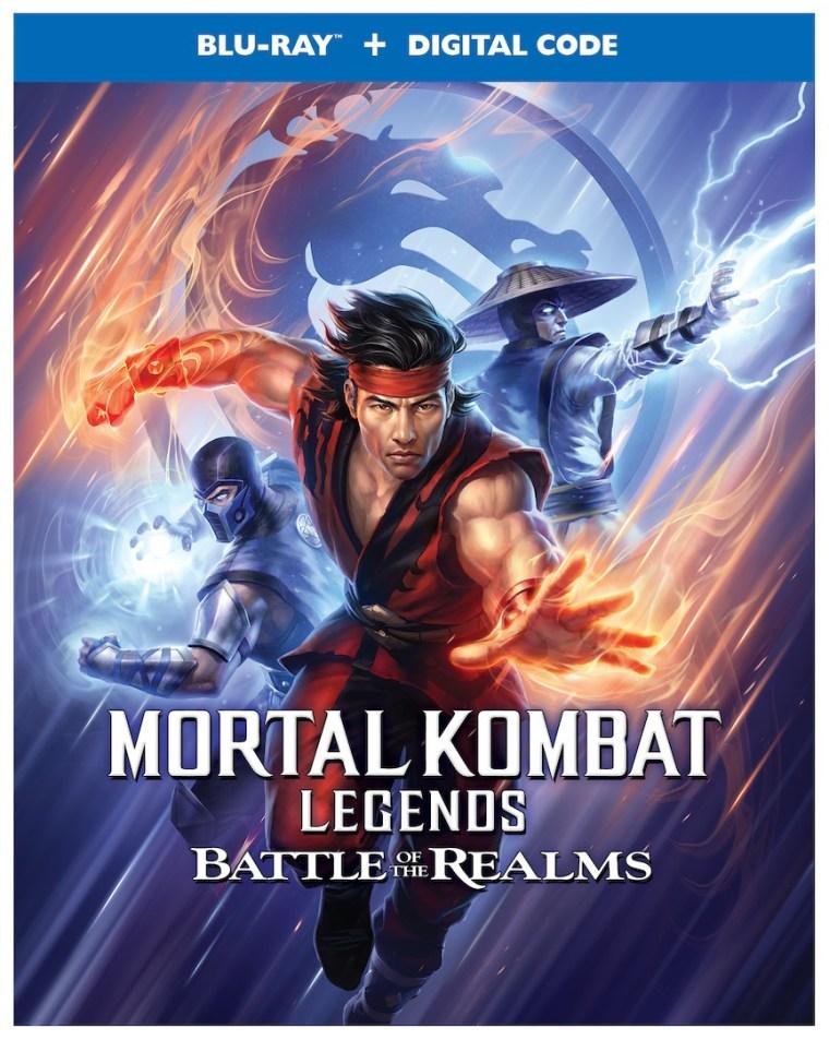 'Mortal Kombat Legends: Battle Of The Realms'; Arrives On 4K Ultra HD, Blu-ray & Digital August 31, 2021 From Warner Bros 4