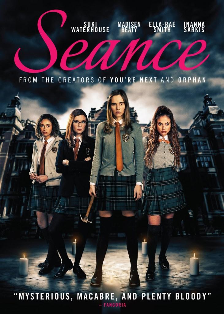 Simon Barrett's 'Seance'; Arrives On Blu-ray & DVD August 3, 2021 From RLJE 4