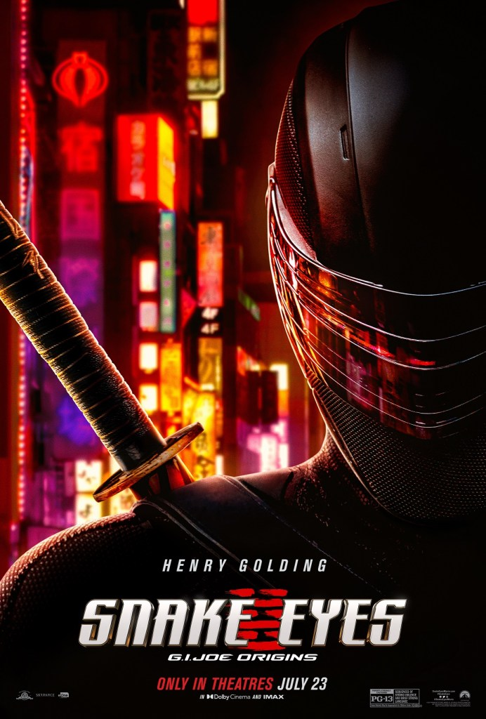 'Snake Eyes'; Check Out A New Trailer, Poster & Featurette For The 'G.I. Joe Origins' Film 2