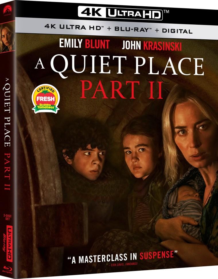 a quiet place 2 4k