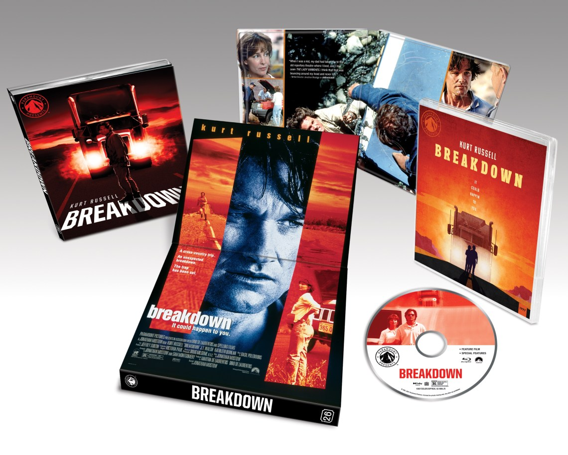 breakdown paramount presents review, blu ray, blu ray review