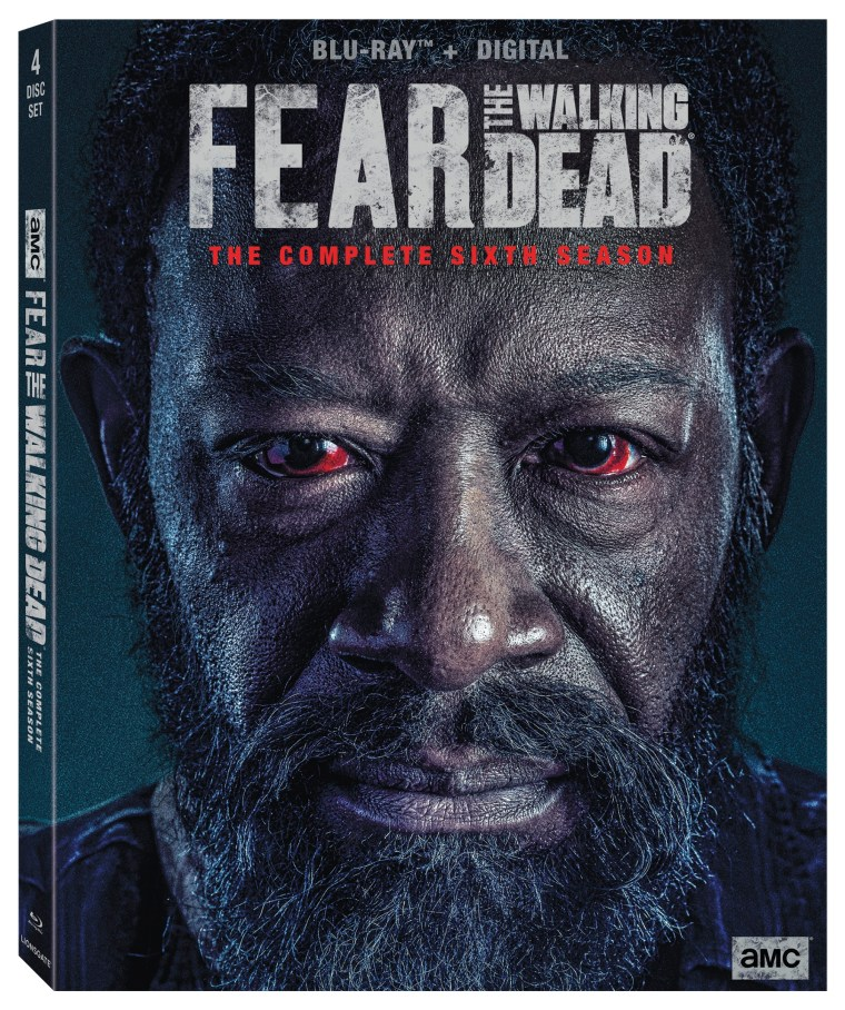 fear the walking dead season 6 blu ray