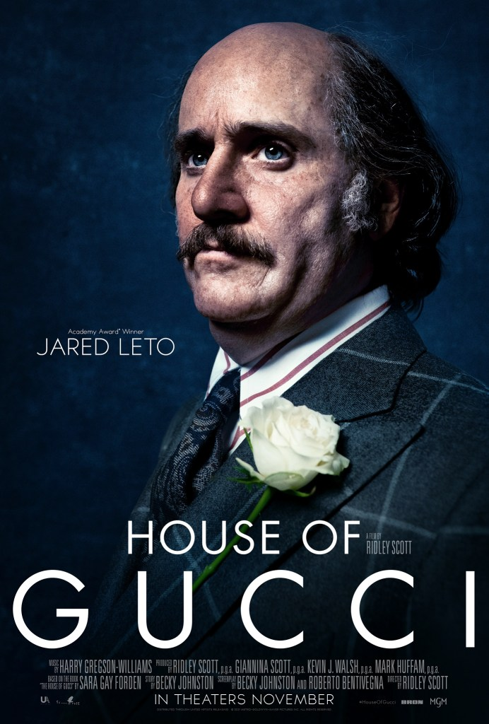 'House Of Gucci'; The First Trailer & 5 Character Posters For Ridley Scott's Star Studded Film Have Arrived 8