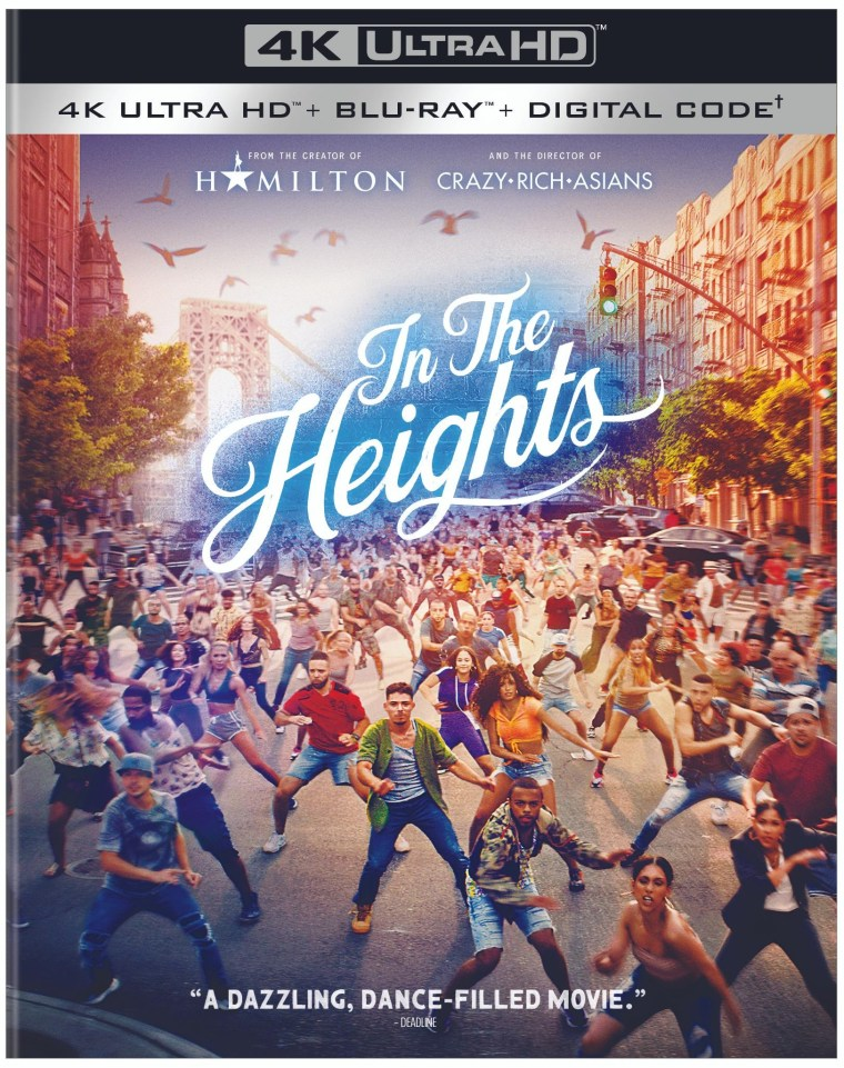 'In The Heights'; Arrives On Digital July 30 & On 4K Ultra HD, Blu-ray & DVD August 31, 2021 From Warner Bros 4