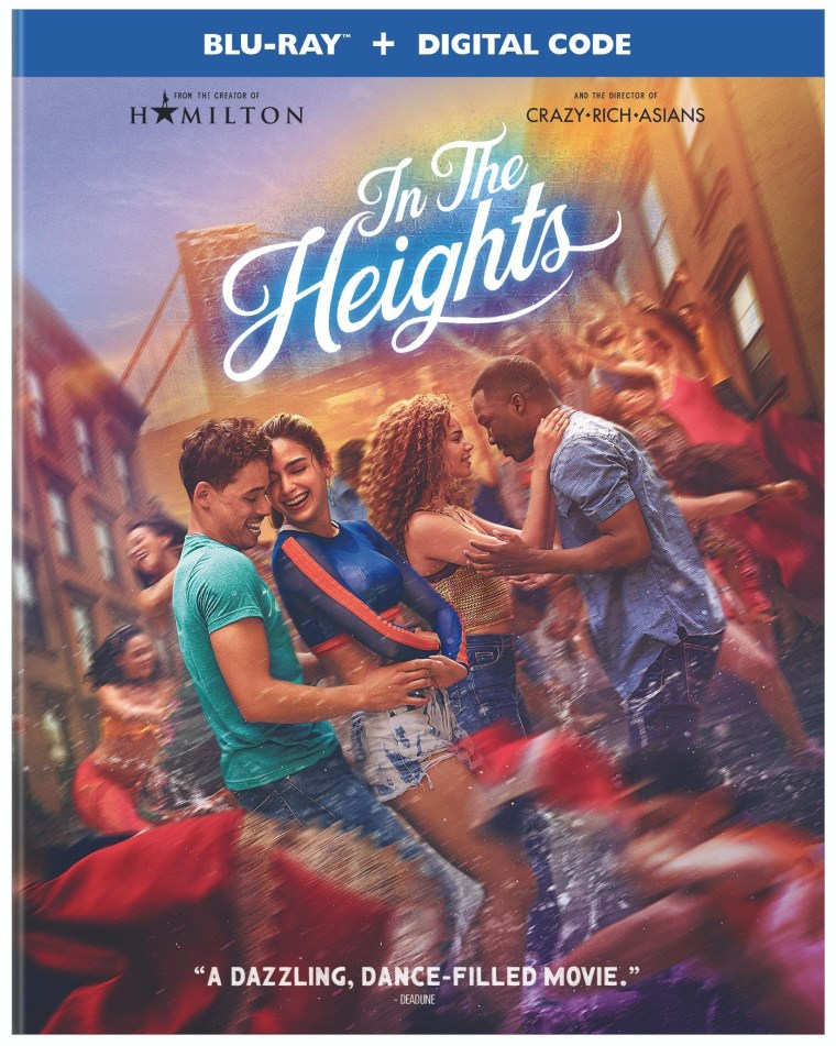 'In The Heights'; Arrives On Digital July 30 & On 4K Ultra HD, Blu-ray & DVD August 31, 2021 From Warner Bros 5