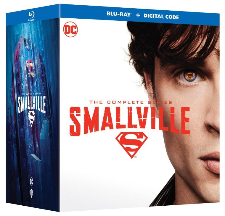 smallville complete series blu ray