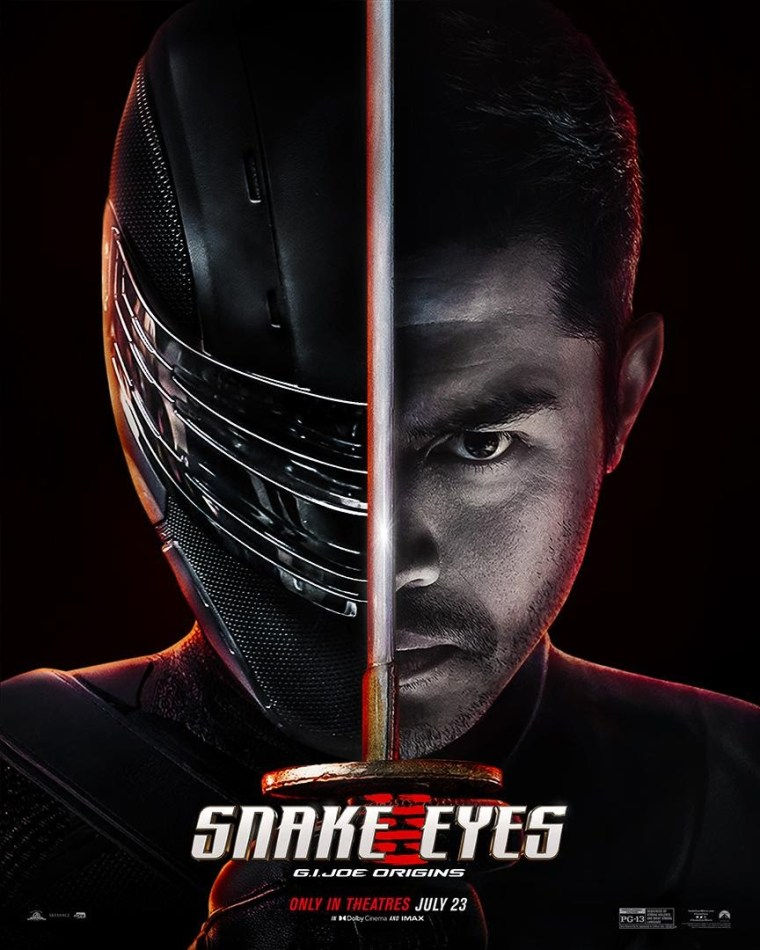 'Snake Eyes'; The Final Trailer & A New Poster For The G.I. Joe Origins Movie Debut Ahead Of The Film's Friday Release 2
