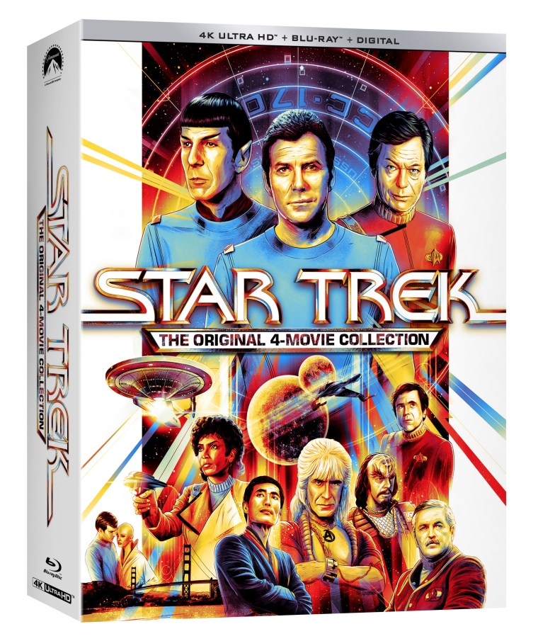 'Star Trek: The Original 4 Movie Collection'; The First Four 'Star Trek' Films Debut On 4K Ultra HD September 7, 2021 From Paramount 2