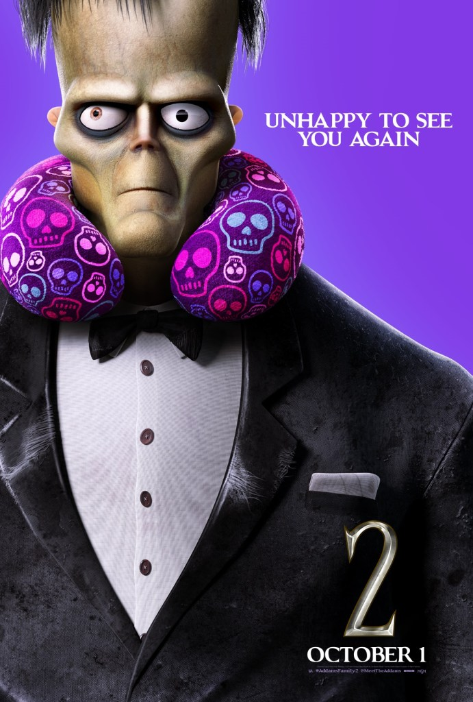 'The Addams Family 2'; 9 Character Posters For The Animated Sequel Show Off The Family On Vacation 12