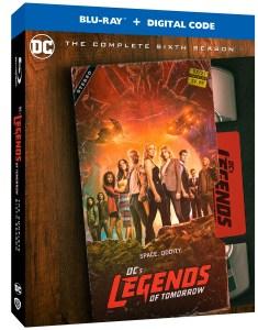 legends of tomorrow season 6 blu ray