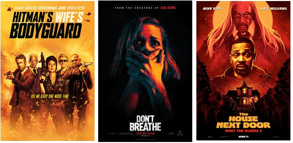 DEG Watched At Home Top 20 List For 08/19/21: Hitman's Wife's Bodyguard, A Quiet Place Part II 13