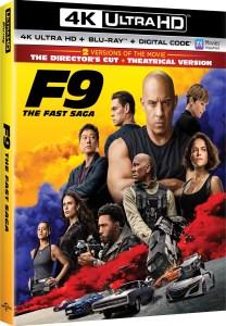 f9, the fast saga, 4k uhd