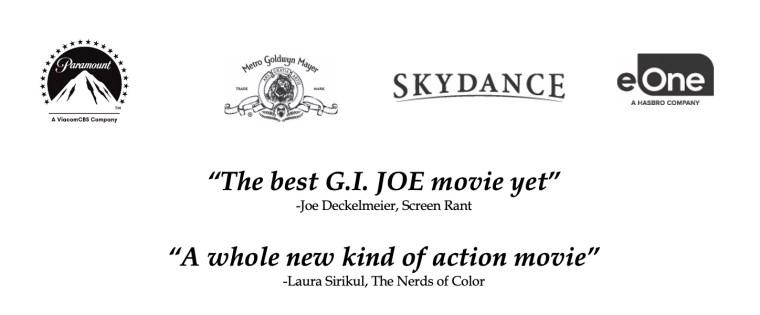 'Snake Eyes: G.I. Joe Origins'; Arrives On PVOD & Digital August 17 & On 4K Ultra HD, Blu-ray & DVD October 19, 2021 From Paramount 6