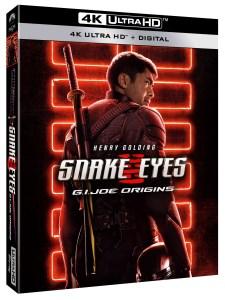 snake eyes blu ray