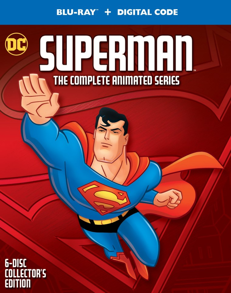 'Superman: The Complete Animated Series'; Arriving On Blu-ray October 12, 2021 From DC - Warner Bros 2