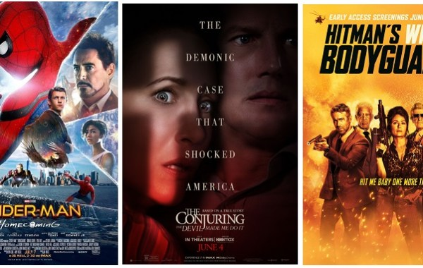 DEG Watched At Home Top 20 List For 09/02/21: The Conjuring 3, Hitman's Wife's Bodyguard 7