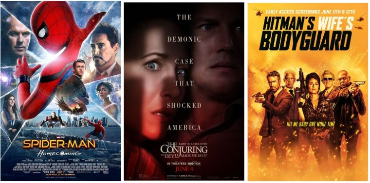DEG Watched At Home Top 20 List For 09/02/21: The Conjuring 3, Hitman's Wife's Bodyguard 5
