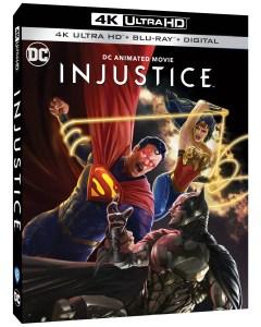 injustice, blu ray