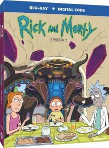 rick and morty season 5 blu ray