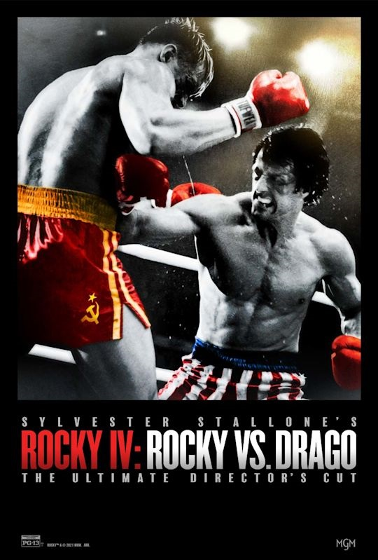 'Rocky IV: Rocky Vs. Drago - The Ultimate Director's Cut' Trailer & Poster Revealed; In Theaters For One Night & On Digital This November! 2