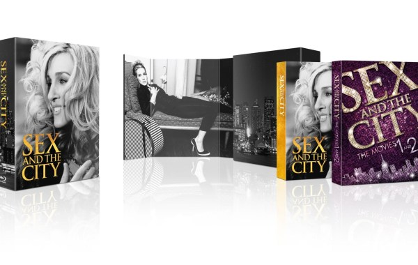 sex and the city, complete series, 2 movie collection, blu ray, box set