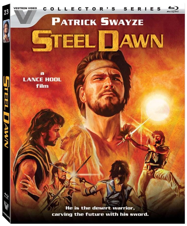 steel dawn, vestron, blu ray