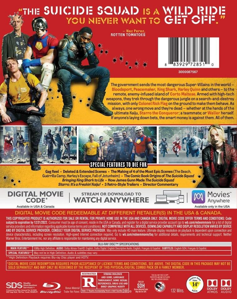 'The Suicide Squad'; Arrives On Digital September 17 & On 4K Ultra HD, Blu-ray & DVD October 26, 2021 From DC - Warner Bros 10