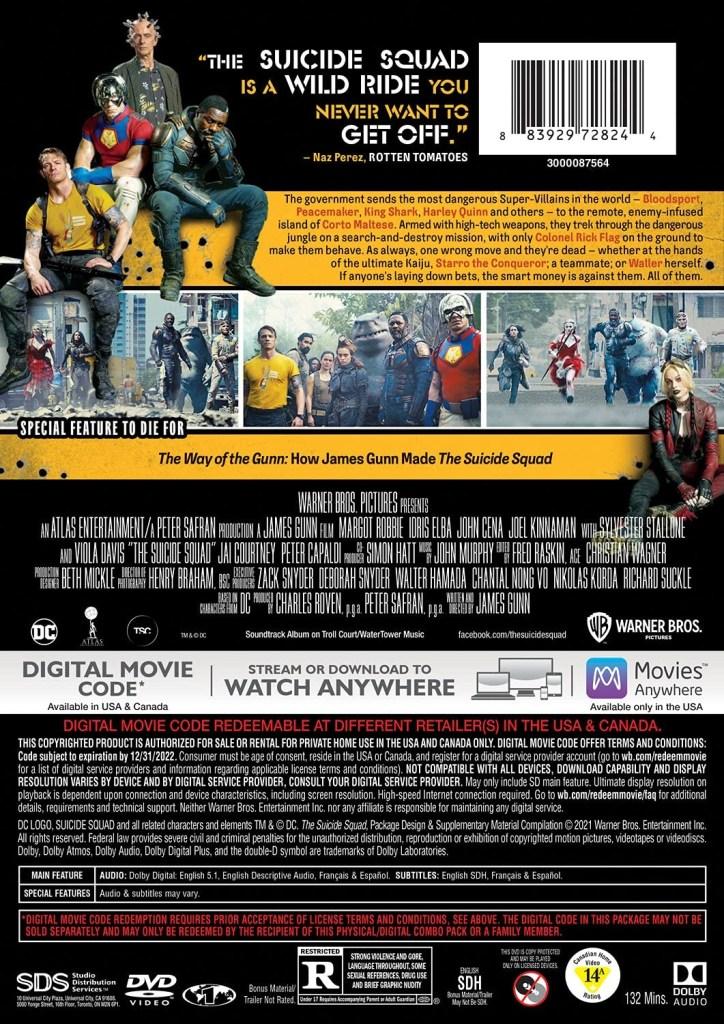 'The Suicide Squad'; Arrives On Digital September 17 & On 4K Ultra HD, Blu-ray & DVD October 26, 2021 From DC - Warner Bros 12