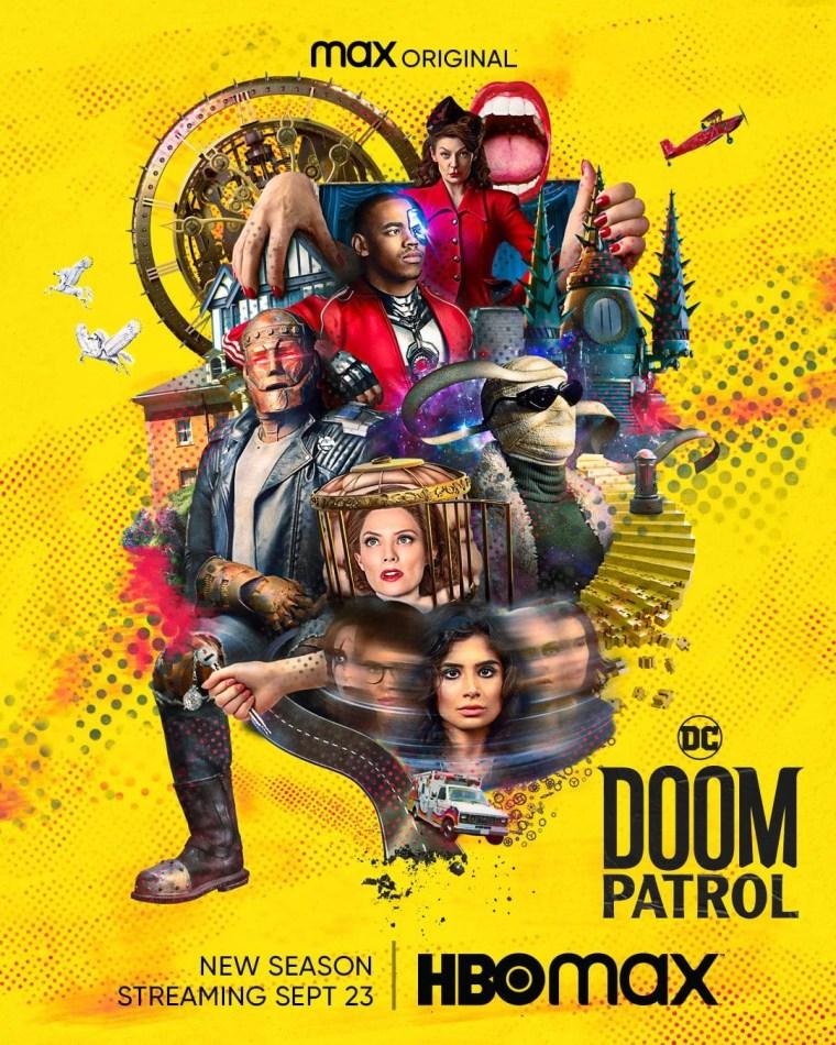 'Doom Patrol: Season 3'; The Full Trailer & Key Art For The New Season Has Landed! 2