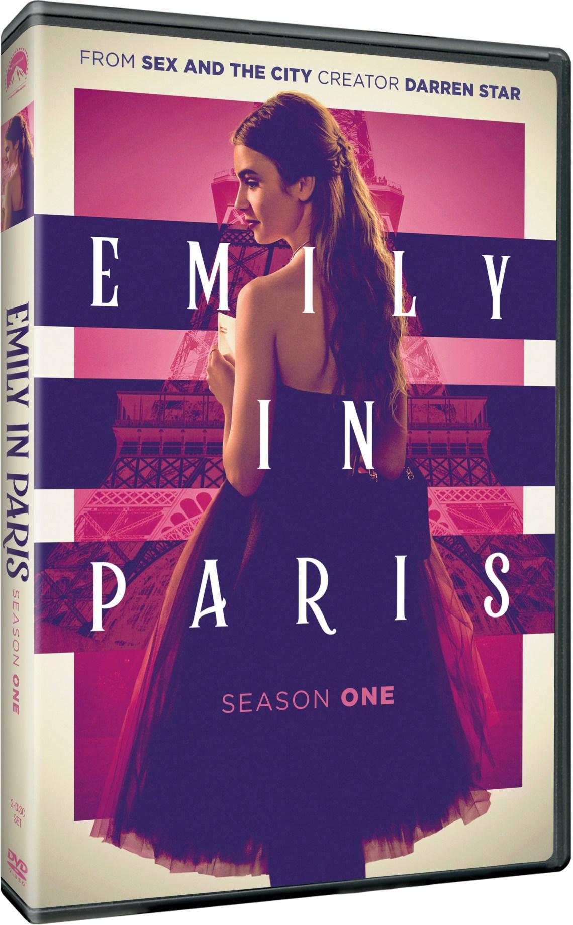 emily in paris season 1 dvd