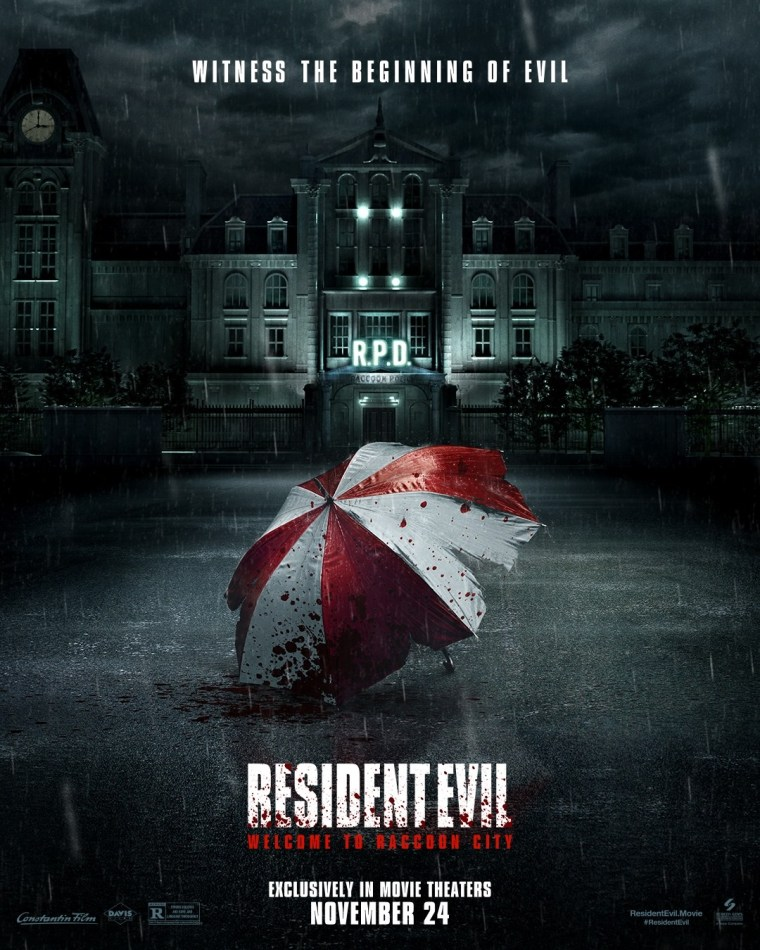 'Resident Evil: Welcome To Raccoon City; The First Trailer & Poster For The New Film Are Here 2