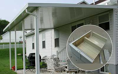 carports aluminum awning kits
