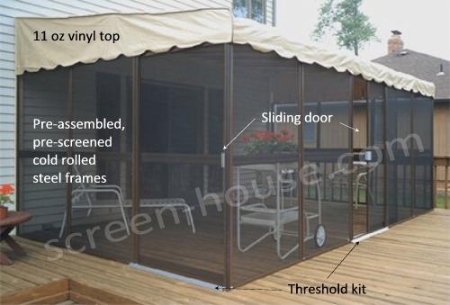 the patio mate screened room