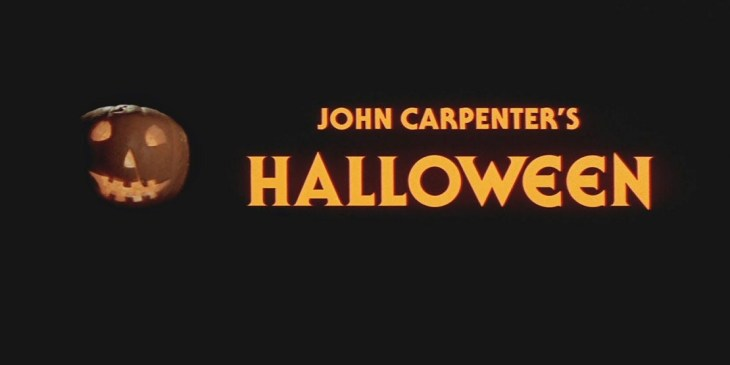 Halloween 1978 title screen