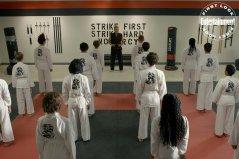 COBRA KAI (L to R) MARTIN KOVE as JOHN KREESE in episode 302 of COBRA KAI Cr. COURTESY OF NETFLIX © 2020
