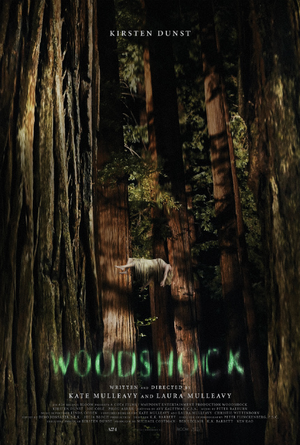 Kirsten Dunst in First WOODSHOCK Trailer: Ethereal, Haunting, Trippy