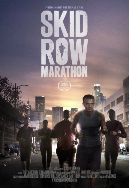 LA Film Fest 2017 Exclusive Clip: SKID ROW MARATHON, Running, Judging, and Then What?