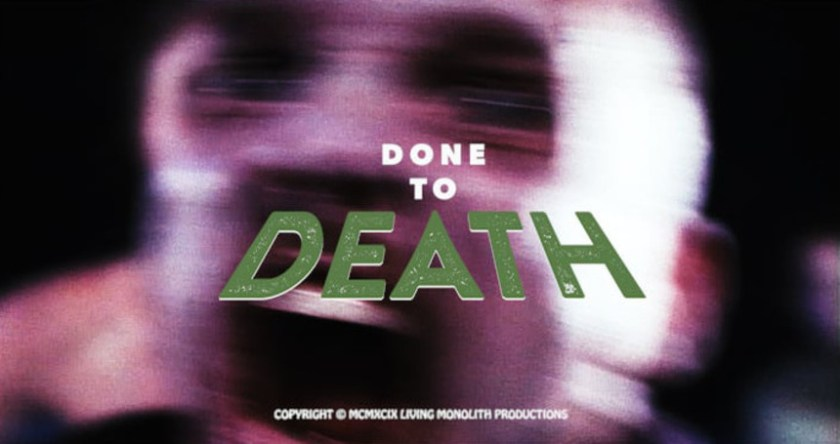 DONE TO DEATH: Throwback Horror Gets Biblical (Though Not How You Think)